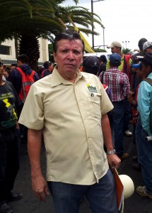 José Espinoza, Executive Director of the Honduran Center for the Promotion of Community Development (CEHPRODEC), explained to be the history of mining deregulation in Honduras