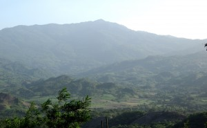 The rolling hills in which San Juan nestles